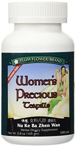 Plum Flower Women's Precious Teapills (Nu Ke Ba Zhen Wan) (1000 Teapills)3741E-MayWay by Plum Flower by Mayway