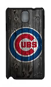 Chicago Cubs Black PC Case/Cover for Samsung Galaxy Note 3 N9000