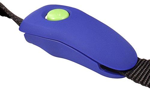 PetSafe Clicker Training Clip Clik-R pour Laisse - Outil de dressage Professionnel pour Chien à Fixer sur la Laisse PTA19-15090