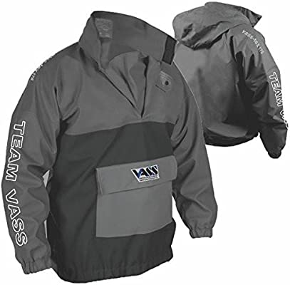 Vass Team 175 WINTER EDITION Fishing Smock Black /& Grey Waterproof