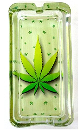 Marijuana-Weed-Classic-Glass-Ashtray