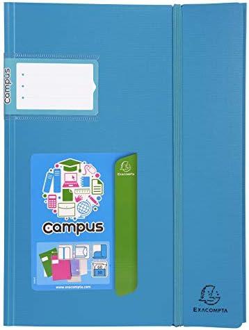 Un portadocumenti saldato Campus Ligth colore casuale Exacompta 85663E formato 24 x 32 cm copertina rigida in polipropilene