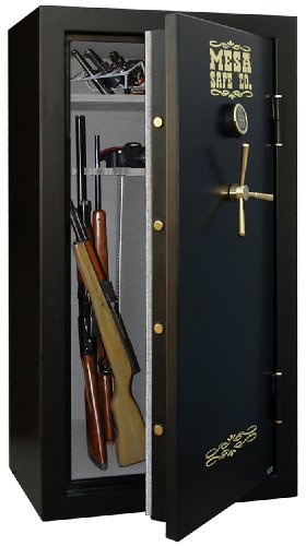 Mesa Safe Company MBF6032E 14.4 Cubic Foot 30 Rifle Gun Safe with Digital - Safe Lock Digital Foot Cubic