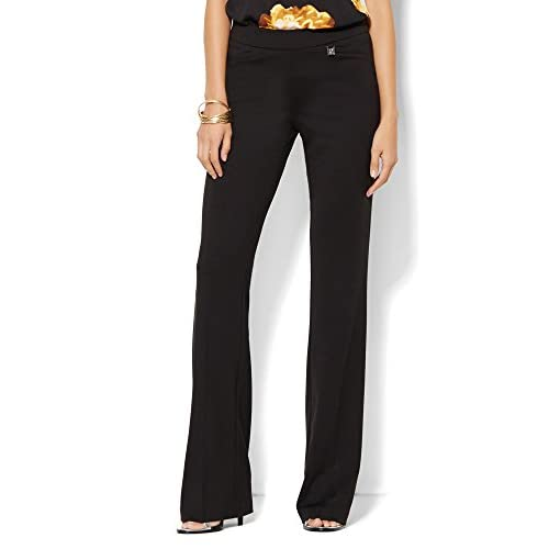 401e473e64 durable modeling New York & Co. Women's 7Th Avenue Pant - Bootcut Knit -  Signature