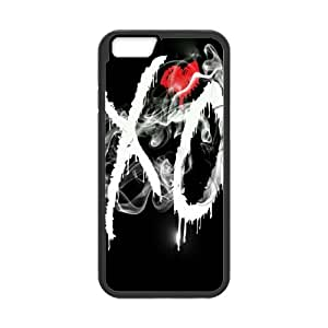 "Fashion The Weeknd XO Red Heart Plastic Hard Case Cover Back Skin Protector For Apple Iphone 6,4.7"" screen Cases TPUKO-Q-9A9913981"