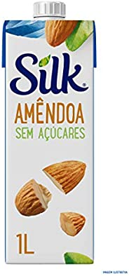 Bebida Vegetal Amendôa Sem Açúcares Silk 1L