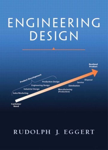 Engineering Design by Rudolph J. Eggert (2004-06-24)