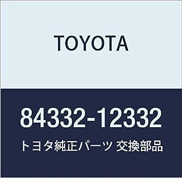 Toyota 84332-12332 Hazard Warning Signal Switch Assembly
