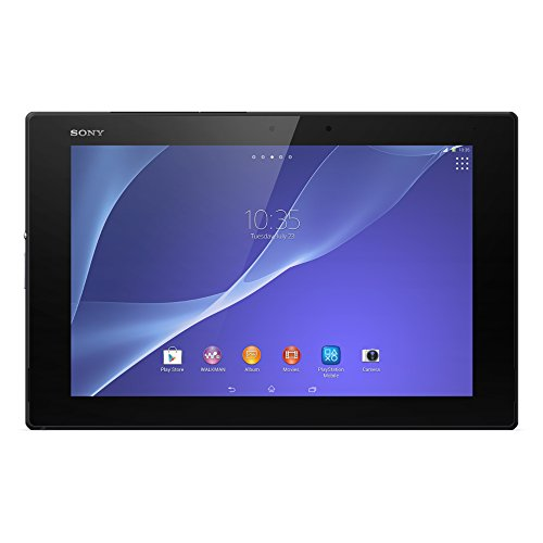 Sony Xperia Z2 16Gb Wifi 10 1  Inch Black Android Tablet Sgp521 4G Lte International Version No Warranty