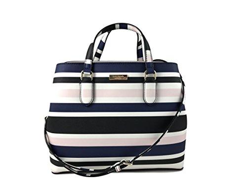 Kate Spade New York Evangelie Laurel Way Printed Handbag in Cruise stripe
