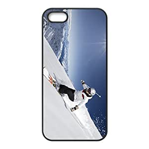 Skiing Hight Quality Plastic Case for Iphone 5s
