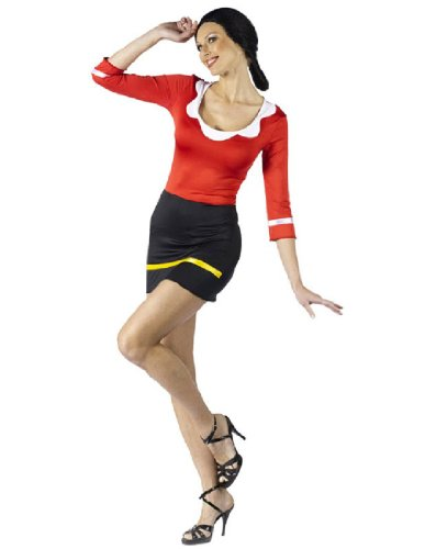 Fun World Women's Popeye-Sexy Olive OYL Costume - http://coolthings.us