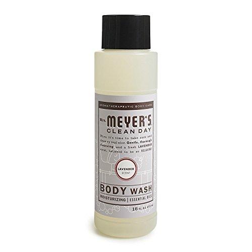 Mrs. Meyer s Body Wash,16 fl oz Pack 3, Lavender