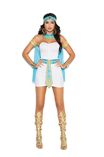Zabeanco Sexy Egyptian Cleopatra Role Playing Halloween Costume (Medium)