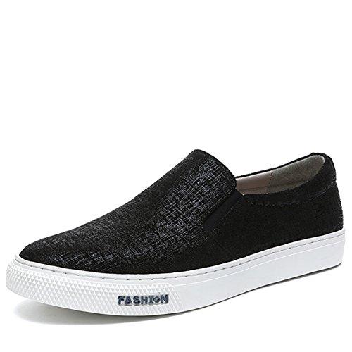 Herren Freizeitschuhe Dress Jugendliche Outdoor Mode Sport Schuhe Rutschen Schwarze Persönlichkeit C