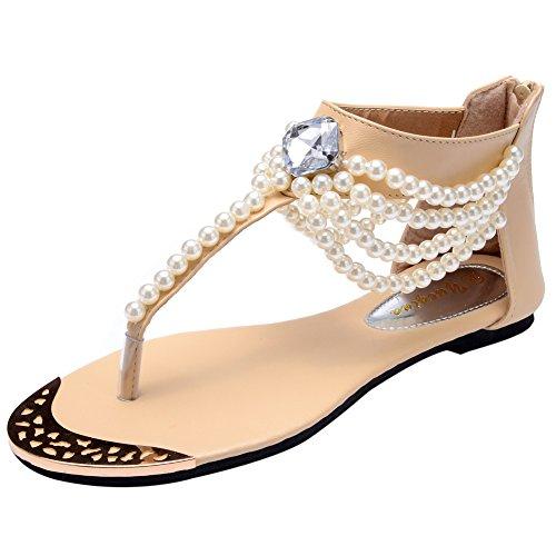 Odema Summer Bohemian Rhinestone Sandals product image