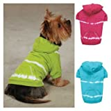 Tie Dye Dog Hoodie Color: Parrot Green, Size: Medium, My Pet Supplies