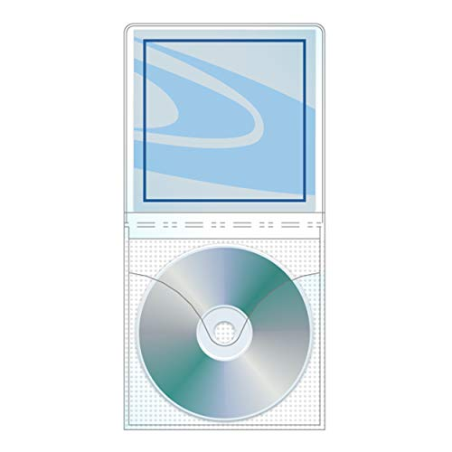 - Univenture Viewpak XG CD/DVD Sleeve with Safety-Sleeve - Pack of 50