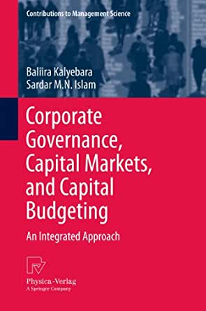 capital markets and corporate governance role Why corporate governance matters to emerging market companies  good  corporate governance can improve access to capital for companies  of the  attention to corporate governance issues in emerging markets has focused on  the role.