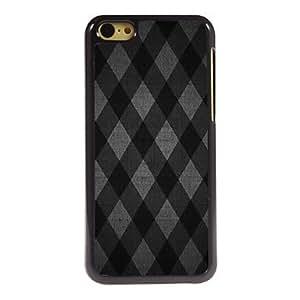 QHY Lattice Design Aluminum Hard Case for iPhone 5C