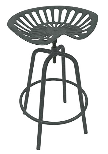 Leigh Country TX 97002 Tractor Seat Stool-Gray, Grey by Leigh Country (Image #2)