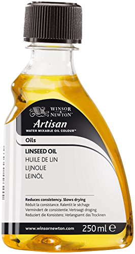 Winsor & Newton Artisan Water Mixable Mediums Linseed Oil, 250ml ()