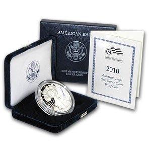 Great American Eagle (2010-W 1 oz Silver American Eagle - (Proof))