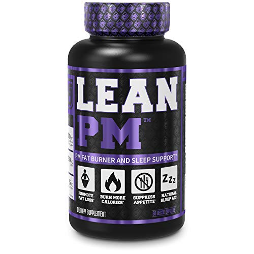 LEAN PM Night Time Fat Burner, Sleep Aid Supplement, & Appetite Suppressant for Men and Women - 60 Stimulant-Free Veggie Weight Loss Diet Pills (Best Diet For Fat Loss Female)