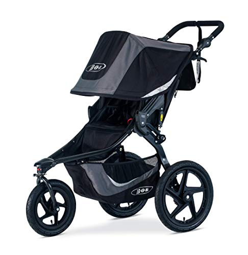 Jogging Stroller - BOB Revolution Flex 3.0 Jogging Stroller, Graphite Black