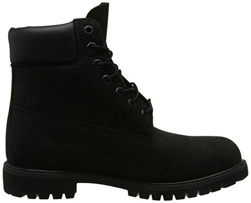 Black in Timberland Stivali Nubuck Premium Uomo 6 Nero 7wwUYRq