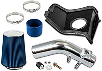 Cold Air Intake Kit BLACK Filter For 02-07 Impreza WRX//STI 2.0L//2.5L Turbo