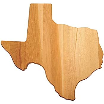 Amazon Com Catskill Craftsmen Texas Shaped Cutting Board