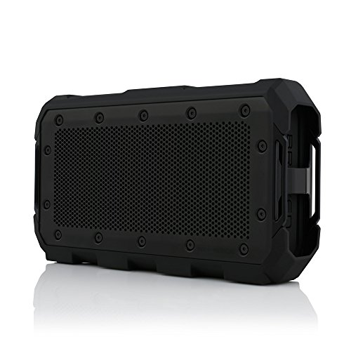 Braven BRV-BLADE Wireless Portable Bluetooth Speaker [22 Hour Playtime][Waterproof] 4000 mAh Power Bank Charger – Black