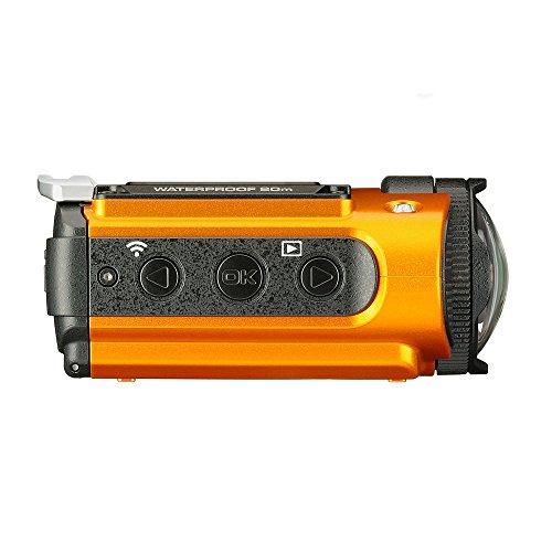 kb09 ricoh wg m2 orange 4k waterproof action video digital camera japan ebay. Black Bedroom Furniture Sets. Home Design Ideas