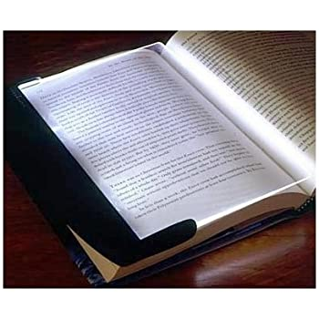 Light Book Cool LSQtronics Black Flexible Folding LED Clip On Reading Book Light