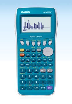 gii Power Graphic Scientific Calculator High Resolution Display Screen Limited Edition 20kb RAM Turquoise Color Limited Edition. ()
