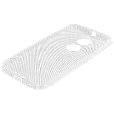 Motorola Moto X 2nd Generation Case, TechSpec(TM) Clear TPU Rubber Skin Case Cover for Motorola Moto X 2nd (Motorola X Clear Cover)