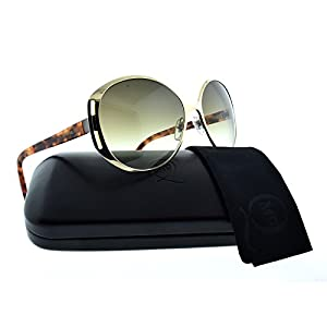 Alexander McQueen Women's AMQ4236/S Gold/Olive Gradient Sunglasses