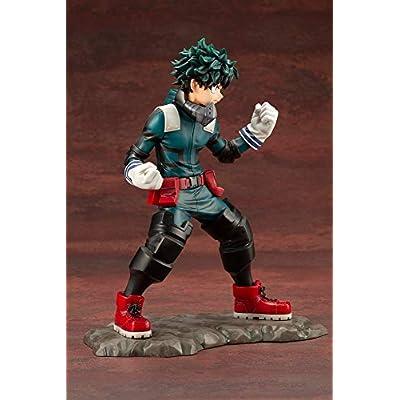 Kotobukiya My Hero Academia: Izuku Midoriya 1/8 Scale ArtFX J Statue: Toys & Games