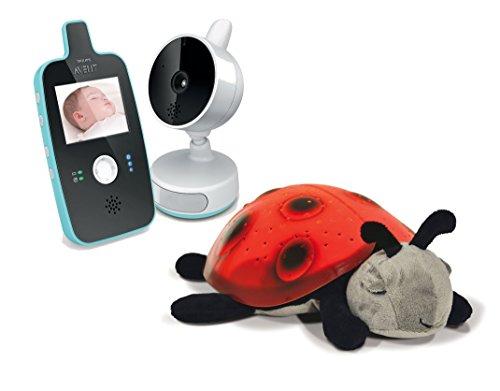 Philips Avent Digital Video Baby Monitor with Night Vision and Twilight Ladybug Nightlight