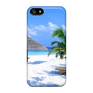 (Voz17397RdmX)durable Protection Cases Covers For Iphone 5/5s(a Beach)