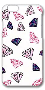 iPhone 6 Plus Case, Customized Slim Protective Hard 3D Case Cover for Apple iPhone 6 Plus(5.5 inch)- Diamonds