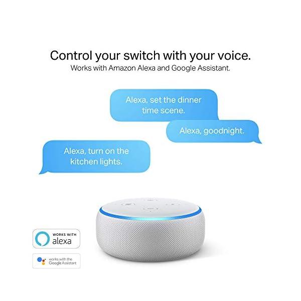 Kasa Smart Light Switch HS200, Single Pole, Needs Neutral Wire, 2.4GHz Wi-Fi Light Switch Works with Alexa and Google… 5