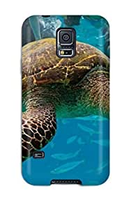Crystal R Martin Case Cover For Galaxy S5 - Retailer Packaging Hawksbil Turtle Protective Case