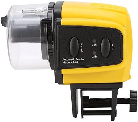 Alimentador de Peces Eléctrico Automático Temporizador Tanque de Acuario Casero 1