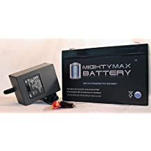 6V 7Ah Replaces Huffy BMW X6 Ride On Toy Car Model 17034 + 6V Charger - Mighty Max Battery brand product