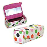 Polka Dot Lipstick Case with Mirror Pack