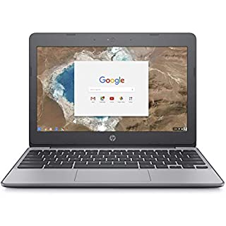 HP Chromebook, Intel Celeron N3060, 4GB RAM, 16GB eMMC with Chrome OS (11-v010nr) (Renewed)