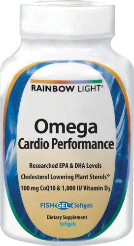Rainbow Light Vitamines Omega Performance Cardio, 60 Count