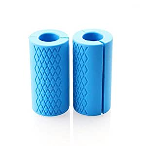 Silicone Thick Bar Grips For Barbell and Dumbbell